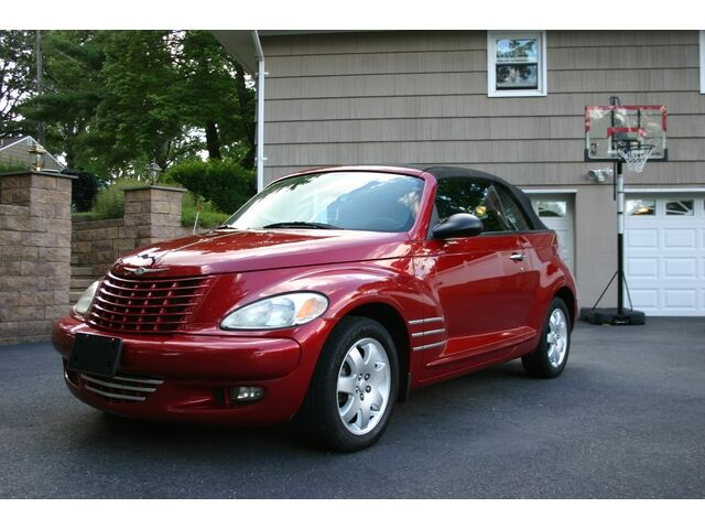 convertible one owner low miles excellent condition warranty used chrysler pt cruiser for sale. Black Bedroom Furniture Sets. Home Design Ideas
