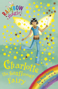 Charlotte-the-Sunflower-Fairy-Rainbow-Magic-Daisy-Meadows-Very-Good-1846