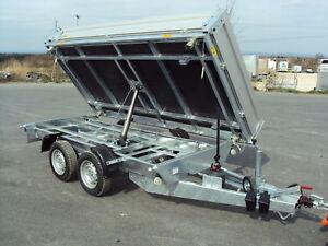 Agados Atlas 3-Seitenkipper Basic 3000 kg,Tandem 330 x 170 x 35 cm