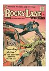 Rocky Lane Not Signed Silver Age Western Comics