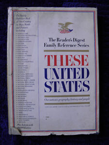 VINTAGE THESE UNITED STATES READERS DIGEST FAMILY SERIES (FREE SHIPPING)