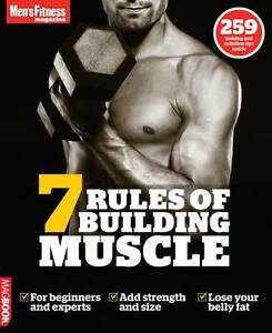 Men's Fitness 7 rules of building Muscle MagBook, Men's Fitness, Very Good Book