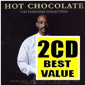 HOT CHOCOLATE The Essential Collection 2CD NEW Best Of Greatest Hits