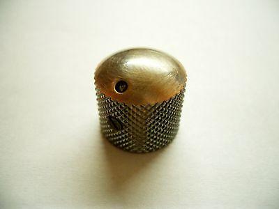 Schaller Dome Speed Knob Messing mit Markierung Vintage Copper