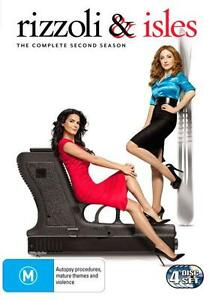 Rizzoli-amp-Isles-Season-2-DVD-4-Disc-Set-Region-4-Very-Good-Condition