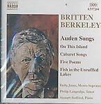 Britten, Berkeley: Auden Songs (2003) New & Sealed