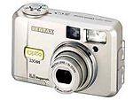 Pentax Optio 330GS 3.2 MP Digital Camera - Silver