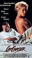 CAT CHASER (1989) $3.95 VHS PETER WELLER,KELLY McGILLIS VERY GOOD!