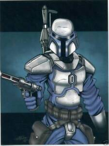 STAR-WARS-JANGO-BOBA-FETT-ART-PRINT-SET-OF-10-FROM-SDCC-COMIC-CON-ONLY-300-MADE