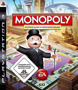 Monopoly -- Mit Classic und World Edition (Sony PlayStation 3, 2008)