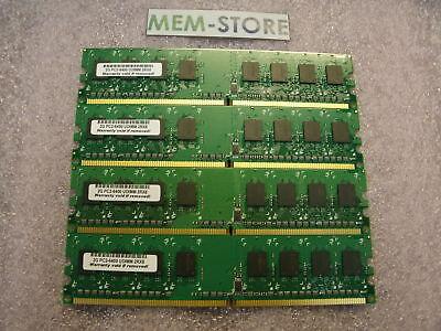 8gb(4x2gb) Ddr2 800mhz Unbuffered Non Ecc Memory Gateway Dx4300-19 Dx4822-03