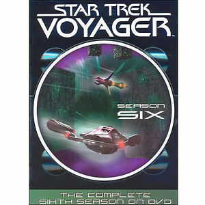 Star-Trek-Voyager-Series-6-Slim-Box-Set-NEW-SEALED-DVD-Quick-Post-UK-STOC