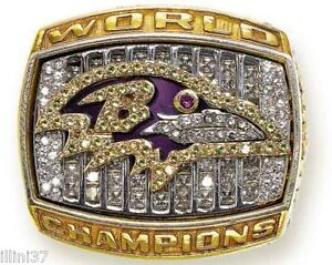 PHOTO 2000 BALTIMORE RAVENS SUPER BOWL 35 RING 8X10 PHOTO