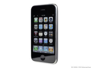 Apple-iPhone-3GS-8GB-Black-AT-T-Smartphone-EUC-with-cables-box