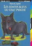 Les Contes Bleus Du Chat Perche (Folio Junior) (French Edition)-ExLibrary
