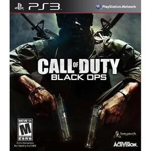 CALL-OF-DUTY-Black-Ops-PS3-Sony-PlayStation-3-MINT-COMPLETE-In-Original-Case