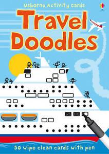 Travel Doodles Cards + Pen Usborne 9781409516835