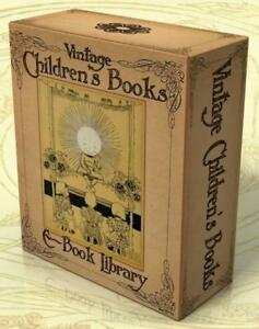 VINTAGE ILLUSTRATED CHILDRENS BOOKS 462 books on 2 DVDs