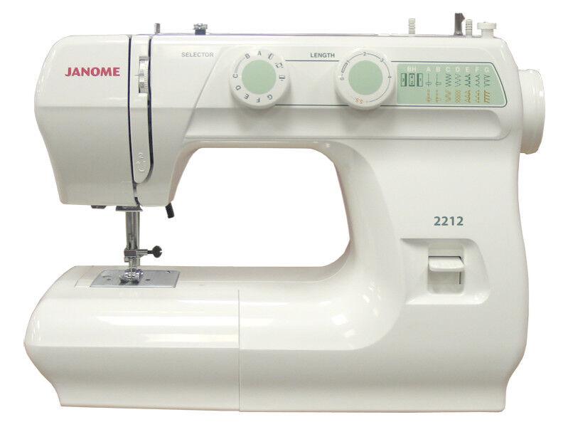 Janome 40 Mechanical Sewing Machine EBay Classy Janome Sewing Machine 2212