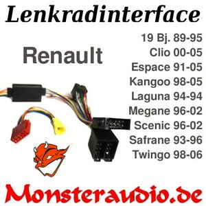 Lenkrad Adapter Lenkradadapter Autoradio JVC Renault Clio Kangoo Megane Twingo