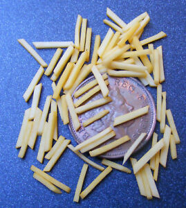 1-12-Scale-50-French-Fries-Chips-Dolls-House-Miniature-Kitchen-Food-Accessor