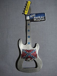 LYNYRD-SKYNYRD-METAL-GUITAR-BOTTLE-OPENER-AND-MAGNET