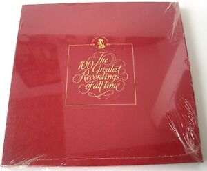 Franklin Mint Orchestral Showpieces 4 LP 100 Greatest