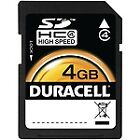 Duracell SDHC 4GB Camera Memory Cards