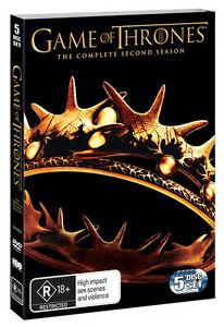 Game-Of-Thrones-Season-2-BRAND-NEW-Region-4-DVD-Sealed