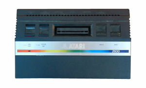 Atari 2600 Jr. Black Console (NTSC)