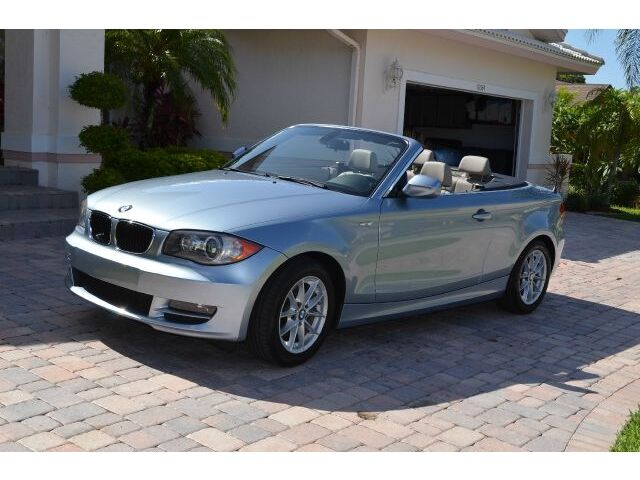 128i convertible 100k mile certified pre owned warranty used bmw 128i for sale in fort myers. Black Bedroom Furniture Sets. Home Design Ideas