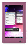 Ematic eGlide 4GB, Wi-Fi, 7in - Pink