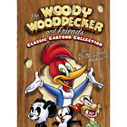 Woody Woodpecker and Friends Classic Cartoon Collection (DVD, 2007, 3-Disc Set, The Walter Lantz Archive) (DVD, 2007)