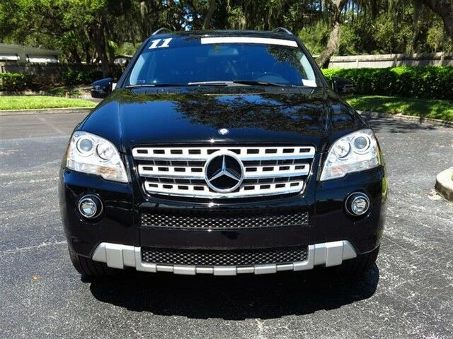 2011 mercedes benz ml550 28k miles premium 2 keyless go for Mercedes benz dealers tampa bay area