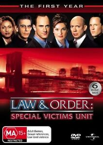 Law And Order SVU TV Series=SEASON 1= NEW SEALED R4 DVD