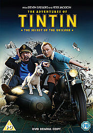 The Adventures Of Tintin  The Secret Of The Unicorn DVD 2012 - <span itemprop='availableAtOrFrom'>Leeds, United Kingdom</span> - The Adventures Of Tintin  The Secret Of The Unicorn DVD 2012 - Leeds, United Kingdom