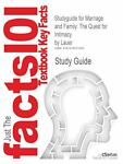 Studyguide for Marriage and Family : The Quest for Intimacy by Lauer, Isbn 9780078111624, Cram101 Textbook Reviews and Lauer, 1478431288