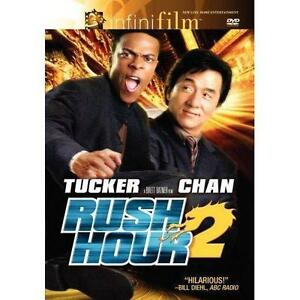 Rush Hour 2 (DVD, 2007, Special Edition) Disc Only-Free Shipping