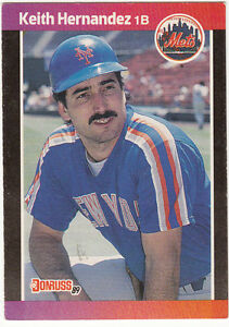 1989 Donruss Keith Hernandez 117 Baseball Card