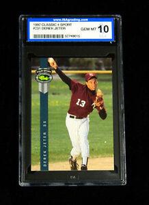 1992 Classic Derek Jeter 231 Baseball Card