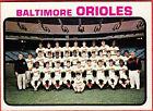 Topps Baltimore Orioles Team Set Baseball Cards