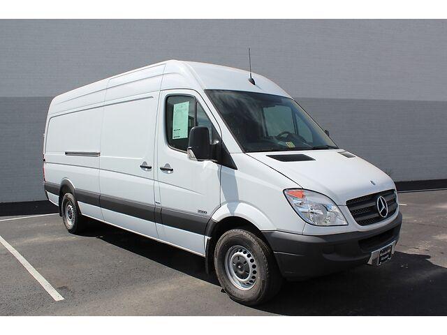 2013 mercedes benz sprinter 2500 cargo van high roof 170 for Used mercedes benz sprinter cargo van for sale