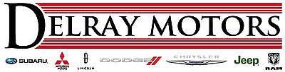 DELRAY MOTORS PARTS DEPARTMENT