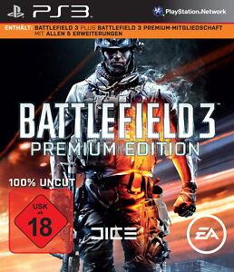 Battlefield 3 -- Premium Edition (Sony PlayStation 3, 2012, DVD-Box) - Deutschland - Battlefield 3 -- Premium Edition (Sony PlayStation 3, 2012, DVD-Box) - Deutschland