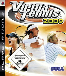 Virtua Tennis 2009 (Sony PlayStation 3, 2009)