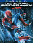 The Amazing Spider-Man (Blu-ray/DVD, 2012, 4-Disc Set, Includes Digital Copy; UltraViolet; 2D/3D)