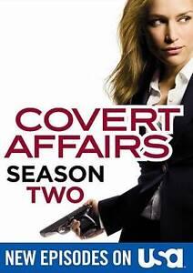 Covert Affairs: Season Two 2 (DVD, 2012, 4-Disc Set)