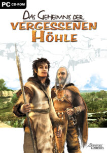 Adventures Company PC CD-ROM  DAS GEHEIMNIS DER VERGESSENEN HÖHLE   (2005)