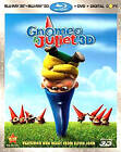 Gnomeo & Juliet (Blu-ray/DVD, 2011, 3-Disc Set, Spanish; Includes Digital Copy; 3D)