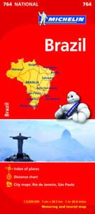 Michelin Map Brazil 764 ' Michelin